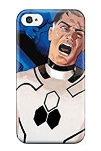 Charles C Lee Case Cover For Iphone 4/4s - Retailer Packaging Fantastic Four Protective Case