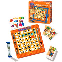 Maya & Miguel Word Scramble Multi Lingual Eng & Spanish