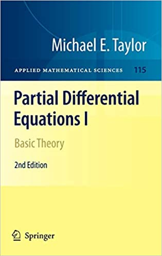 Basic Theory Partial Differential Equations I