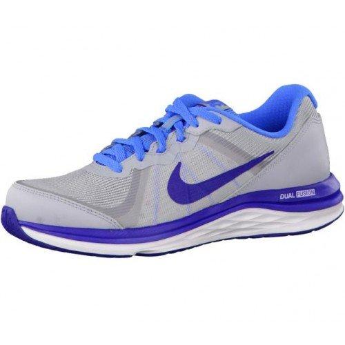 Racer Trainers blue Kids' Dual DP RYL Unisex White Nike X BL Gs Fusion 2 Blue 6gR8wqTw0