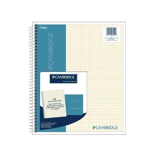 Cambridge Quad Cuaderno microperforado, 70CT (06194) by Cambridge