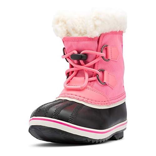 chollos oferta descuentos barato Sorel Yoot Pac Nylon Botas de Invierno Unisex Niños Rosa Lollipop Pink GLO 674 37 EU