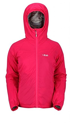 Rab Strata Hooded Insulated Jacket - Women's Jam, US L/UK 14 by RAB