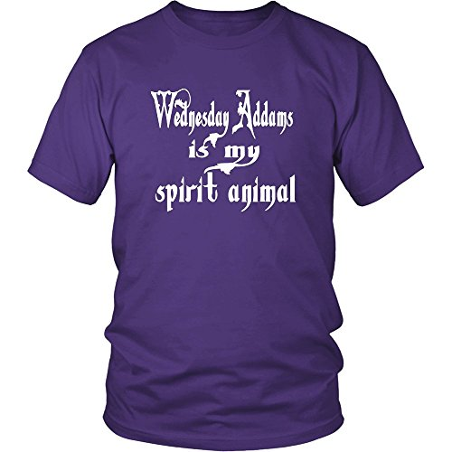 Wednesday Addams In My Spirit Animal Unisex T-Shirt - The Addams Family