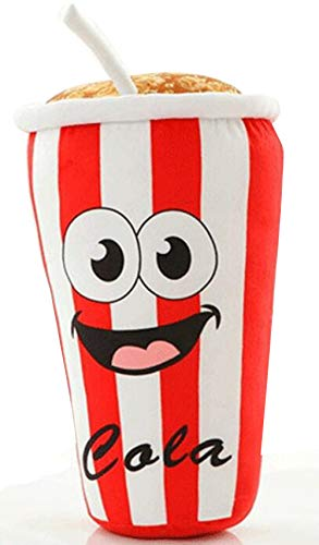 - Mapnana 13 INCH Cartoon Coke Animated Plush Bolster Toy Creative Doll Pillow for Age Over 3 Children/Birthday/Christmas/Home Decoration/Cute Pillow/Cushion