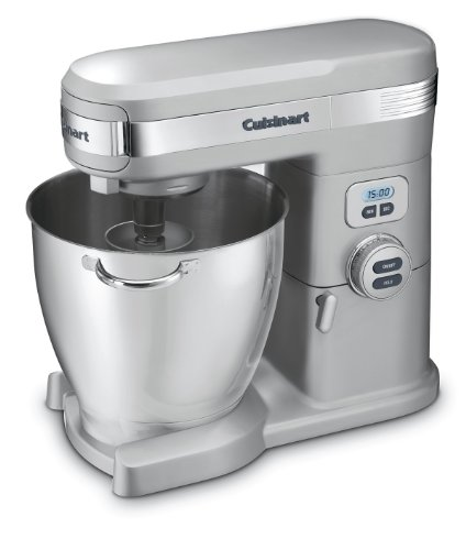 Quart 12-Speed Stand Mixer, Brushed Chrome (Cuisinart Stand Mixer)