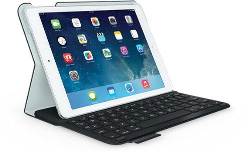 Logitech Ultrathin Keyboard Folio for iPad Air, Carbon black Tech (Fabric Keyboard)