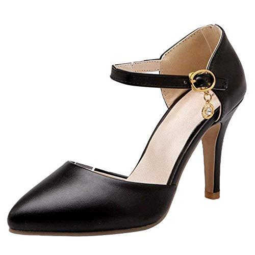 Fermé Sandales Féminine Stiletto Mode Qiusa 0qOw6xIE
