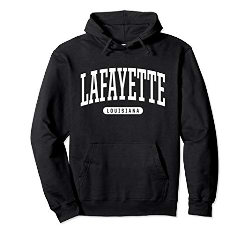 Louisiana Lafayette Basketball - Lafayette Hoodie Sweatshirt College University Style LA USA.