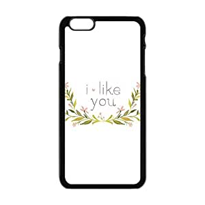 I like you with flowers personalized high quality cell phone case for Iphone 6 Plus wangjiang maoyi by lolosakes