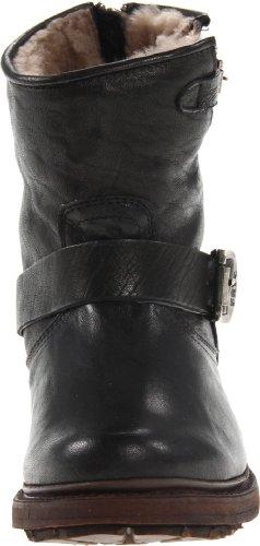 Frye Botas de 6Valerie caña para las mujeres Black-75016