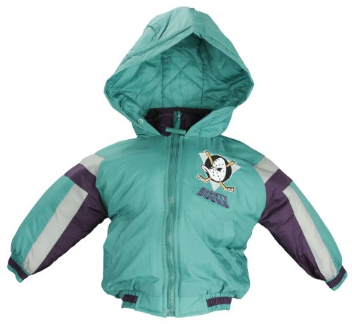 NHL-Anaheim-Mighty-Ducks-Toddlers-Outerwear-Jacket-with-Hood-3T