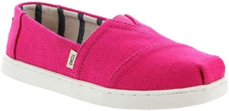473b5ac99f51a Toms Classic Youth Espadrilles 1 D(M) US Youth Magenta Heritage ...