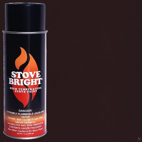(Stove Bright High Temp Paint - Bark Brown)