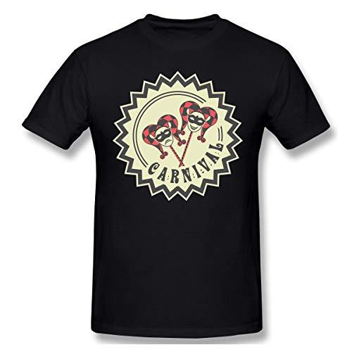 Men's Summer Camp Liberty Carnival 3D Printed T-Shirt O Neck Short Sleeve Tee - Shirts Carnival Camp