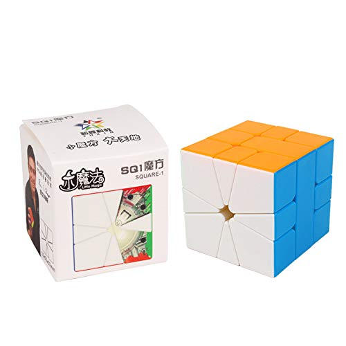 Cubelelo YuXin Little Magic Square-1 Stickerless Cube Puzzle Toy