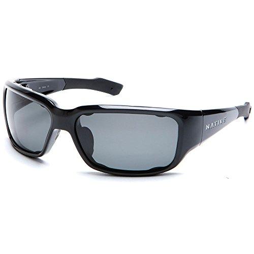 Native Eyewear Bolder Sun Glasses (Gray, - Native Sunglasses Men's