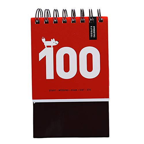 Home Office Storage - Arrivals 100 Day Plan Desk Calendar Notebook Memo Pad Regular Agenda Home Office School Gift - Containers Lids Organization Office Shelves Solutions Drawers Desk Home B