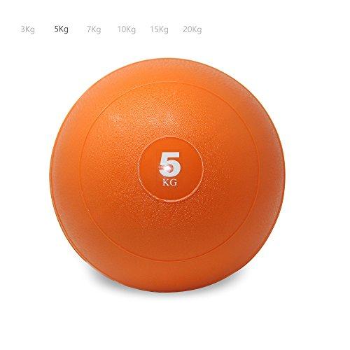 POWRX Slam Ball Balón Medicinal 5 kg - Ideal para Ejercicios de ...