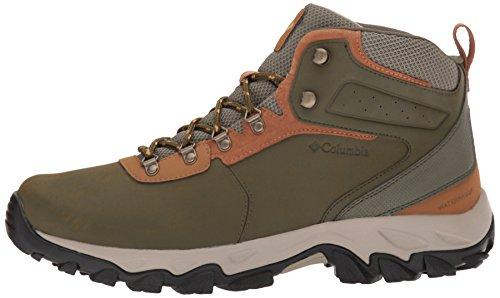 Columbia Men's Newton Ridge Plus II Waterproof Hiking Boot, nori, Dark Banana, 7 Regular US by Columbia (Image #5)