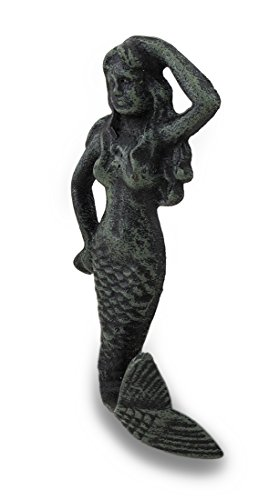 Goddess of the Sea Cast Iron Mermaid
