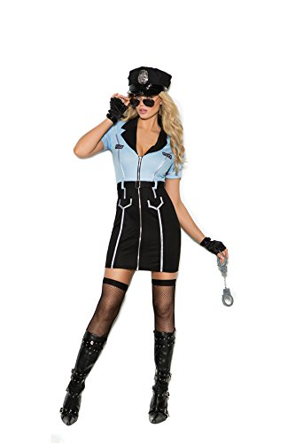 Women's Sexy Police Officer Cosplay Costume Set