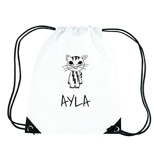 JOllipets AYLA Turnbeutel Sport Tasche PGYM5170 Design: Katze