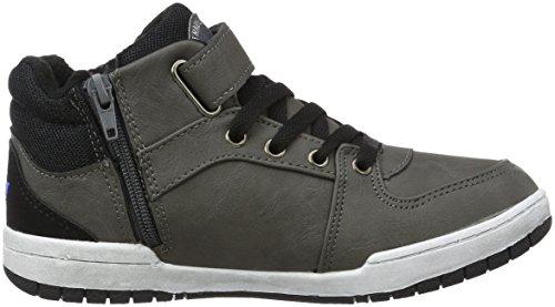 Sneakers Newspaper Schwarz Blau Grau Hautes Vs Lico Mixte Enfant Gris qv67Bw