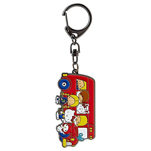 Sanrio Sanrio Characters Keychain '70s bus From Japan New (70s Tv Characters)