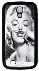 Marilyn Monroe Beautiful Smile Cruising Sweden Black Samsung Galaxy S4 I9500 case, Case for S4 I9500