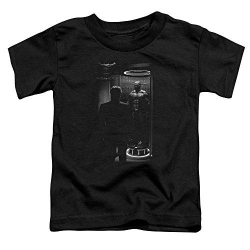 Trevco Batman v Superman Suit Up Unisex Toddler T Shirt For Boys and Girls -