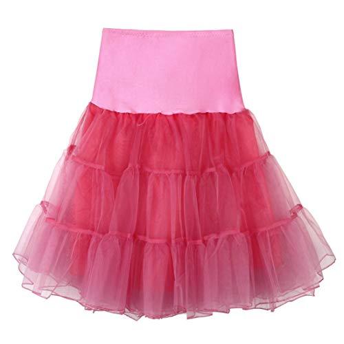 LULIKA Femmes Womens Haute Qualit Haute Taille Pliss Jupe Courte Jupe Adulte Tutu Danse Du Vin