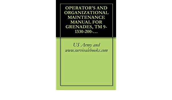 OPERATOR'S AND ORGANIZATIONAL MAINTENANCE MANUAL FOR