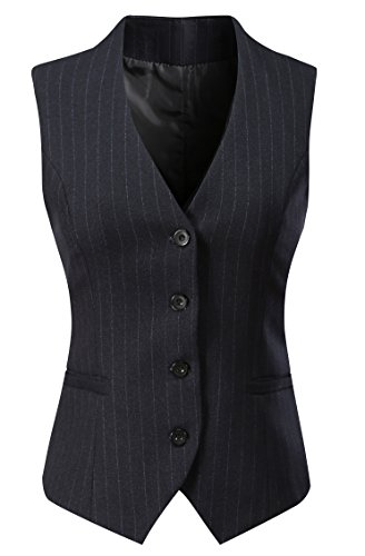 Lined Pinstripe Suit - 1