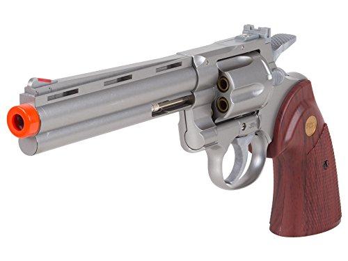 "TSD Zombie Killer .357 Silver 6"" Spring Revolver Spring Airsoft Revolver"