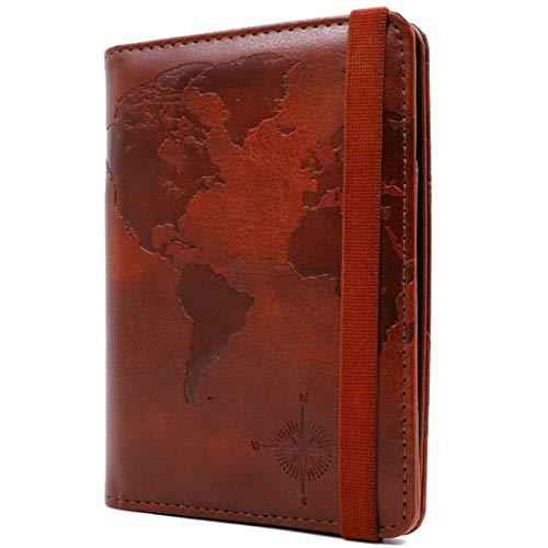 Kandouren RFID Blocking Passport Holder Cover Case,travel luggage passport...