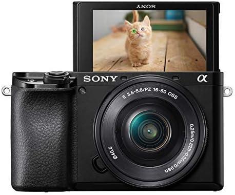Sony Alpha 6100L - Cámara Evil de 24.2 MP (Sensor APS-C CMOS Exmor ...