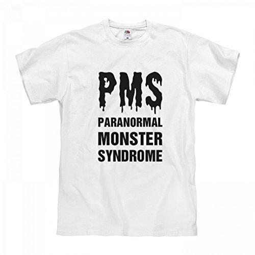 Girls Pms T-shirt (Customized Girl PMS Werewolf Cycle Symptoms: Unisex Fruit of The Loom Midweight T-Shirt)