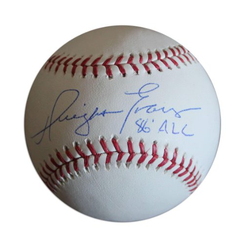 Autographed Dwight Evans Ball - with