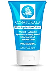 OZNaturals Eye Cream For Wrinkles - Anti Aging Treatment For Dark Circles & Puffiness - The ONLY Eye Moisturizing Cream With Astaxanthin, Matrixyl Synthe'6 & Caffeine For Ultra Ageless Eyes