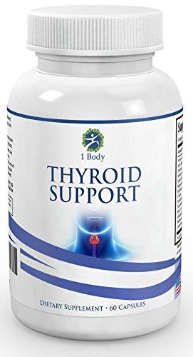 """Meilleur Supplément thyroïde de soutien - Un mélange naturel conçu comme une aide pour votre thyroïde - ** BONUS GRATUIT ** -> Ebook avec chaque achat """"hypothyroïdie minceur"""" (une valeur de $ 9.99) - Augmentez votre énergie et éviter les symptômes de l'hy"""