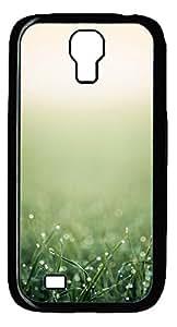 Samsung Galaxy S4 I9500 Cases & Covers - Green Grass Closeup Ios7 Custom PC Soft Case Cover Protector for Samsung Galaxy S4 I9500 - Black