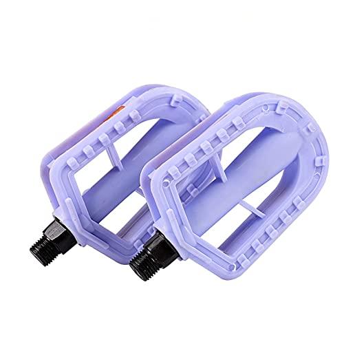 LULUMI 2 STKS Kinderen Pedaal Kids Cyclus Pedaal Ultralight Plastic Fiets Pedalen Non-slip Fiets Pedalen voor Kids…