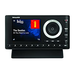 SiriusXM SXPL1H1 Onyx Plus Satellite Radio Receiver with Home Kit