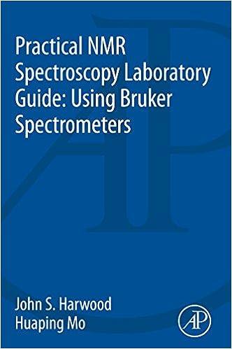 Practical NMR Spectroscopy Laboratory Guide: Using Bruker