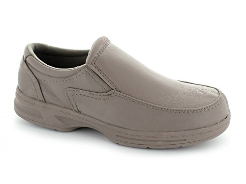 Taupe Mens HOWARD Keller Dr Wide Loafers Leather Taupe Fit waqxxF81