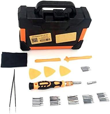 Industriewerkzeugset MT46 Mini Multifunktions-DIY-Set mit Schraubenzieher und Reparaturwerkzeug für Mobiltelefone kann zum Reparieren von Brillen, Festplatten, Rasiermessern, Spielekonsolen, Mobiltele