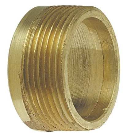 DWV Flush Adapter, Cast Bronze, C x MNPT