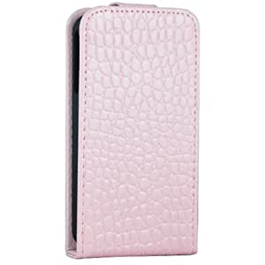 iDream Crocodile Texture PU Leather Case Cover For Apple iPhone 4 4S