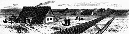 Kansas Mennonites C1874 Nnew Homes In Kansas Built By Mennonites From Russia Who Settled In Central Kansas Beginning In 1874 Wood Engraving From A Contemporary American Newspaper Poster Print by (18 ()